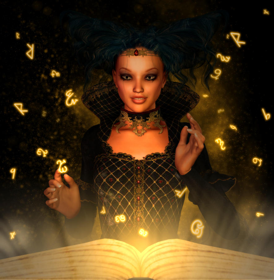 Ancient Magic by patslash