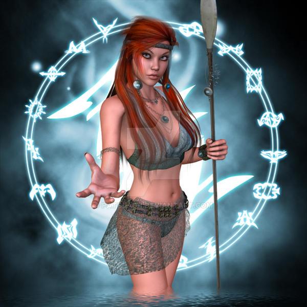 Tribal Magic by patslash