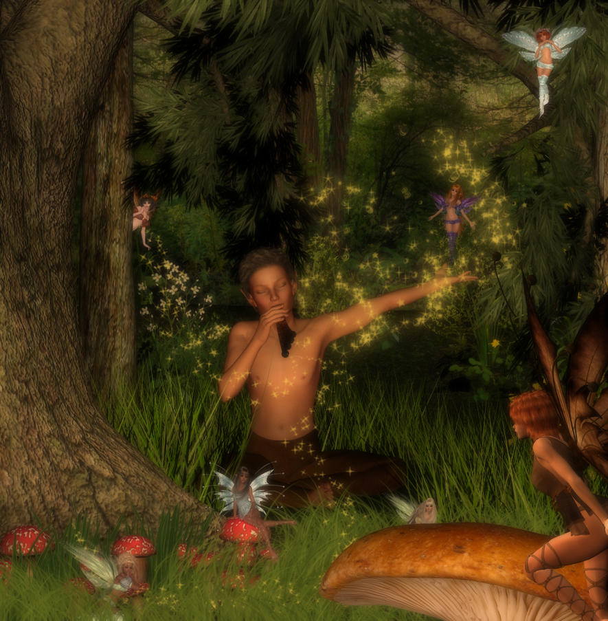 Peter Pan by patslash