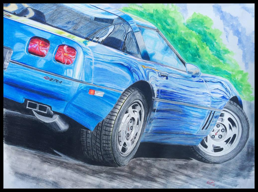ZR1 Corvette '90 by Ant787 on DeviantArt