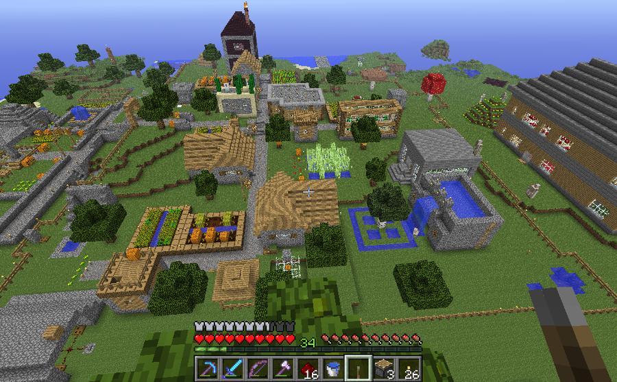 My Minecraft Village By SecminourTheThird On DeviantArt