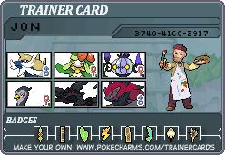 Pokemon White Trainer Card - SecminourTheThird by SecminourTheThird