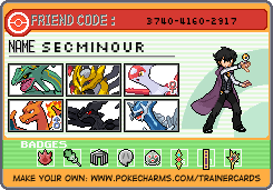 New ID - Trainer Card by SecminourTheThird