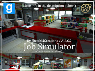 Map - Job Simulator (Convenience Store level) by SecminourTheThird