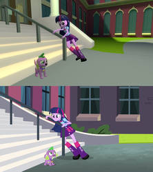 GMOD - [EQG] Two Less Legs Than Usual by SecminourTheThird