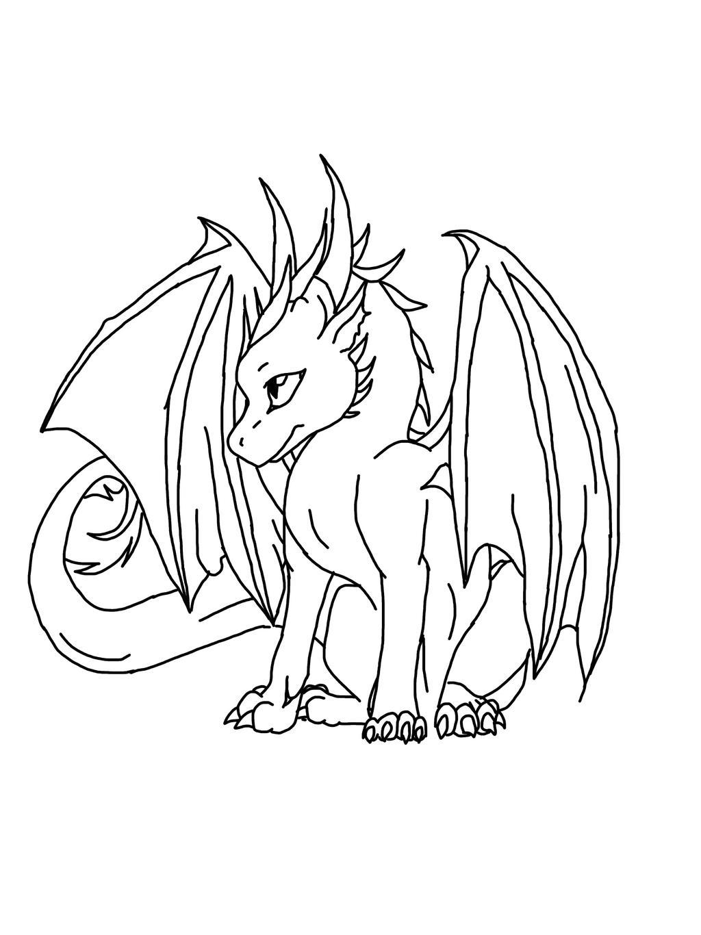 Cute Dragon ^_^ by WolfieTheAlpha on DeviantArt