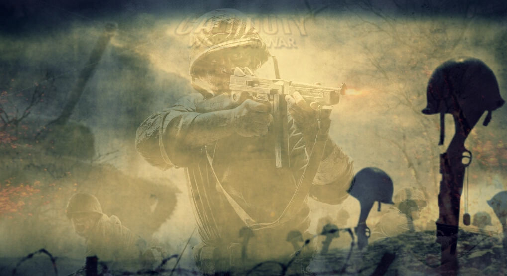 Call Of Duty World At War Collage Wallpaper By Obi Waton
