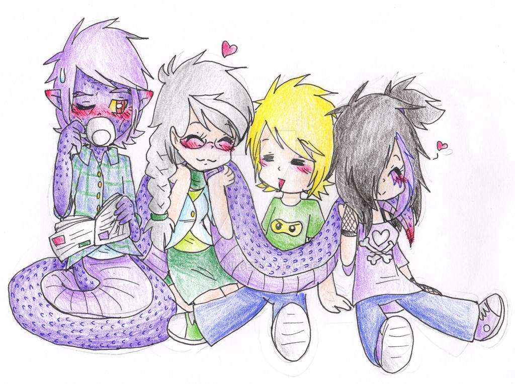 Garmadon, Misako, Lloyd And Yui By AnaNini On DeviantArt