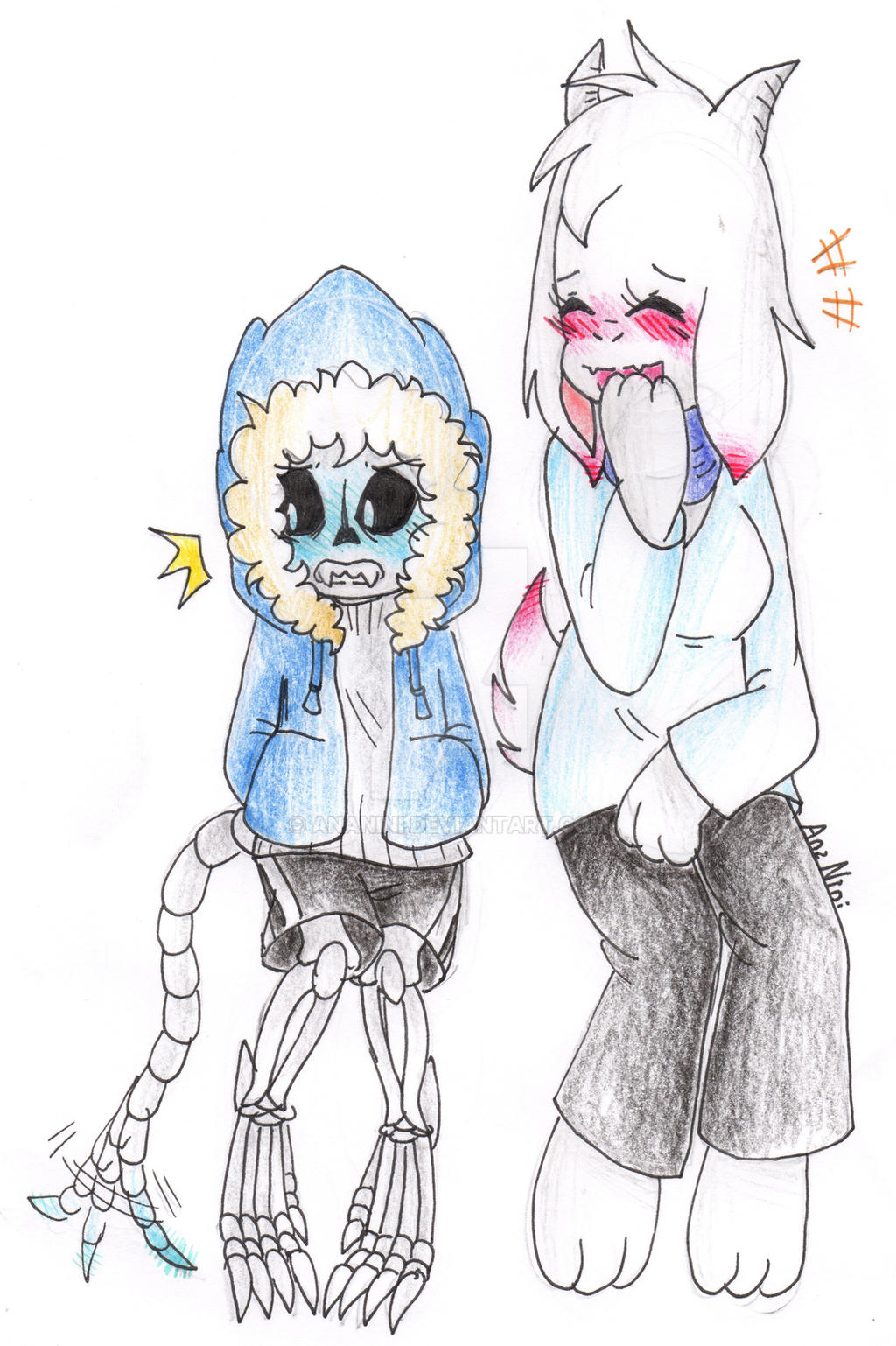 Gb Sans And Tori Again By Ananini On Deviantart