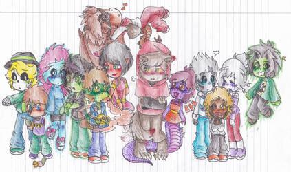 Ninjago Monster AU