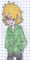 Redesigning Ninjago characters -- Lloyd