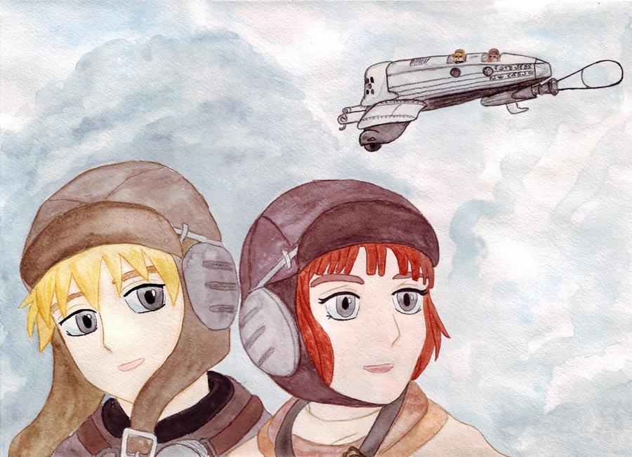 Over The Sky by soraruri