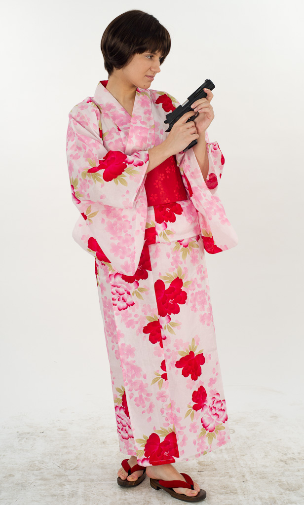 Saya - Yukata Girl Sweeper 1 by soraruri