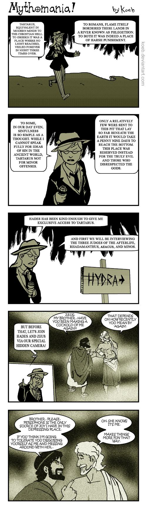 MYTHOMANIA: Tartarus sauce by koeb
