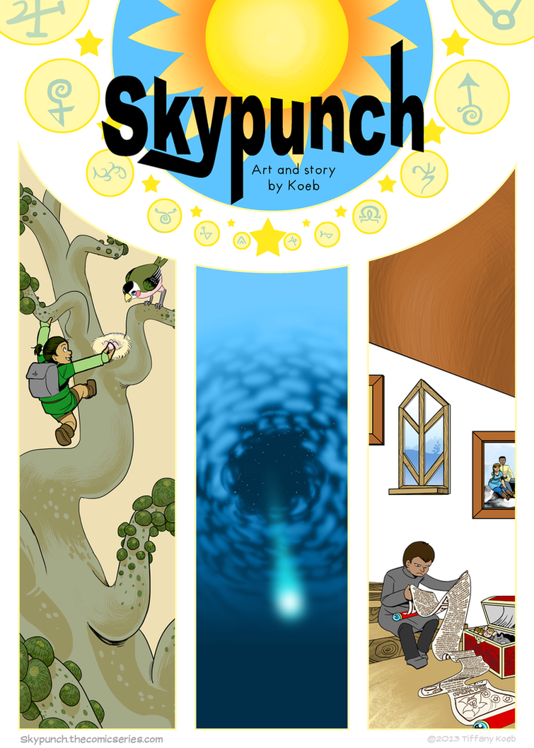 Skypunch ch1 Cover by koeb