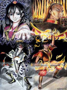 THE STRUGGLE AGAINST FATE - Hakuryuu and Zuko