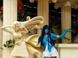 The Djinn and the Pythie [Paimon cosplay]