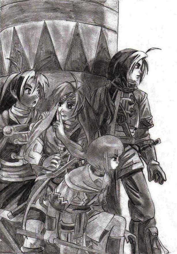Golden Sun II the lost age by Hanoko