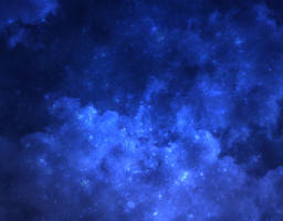 Blue Starry Night by Luminya