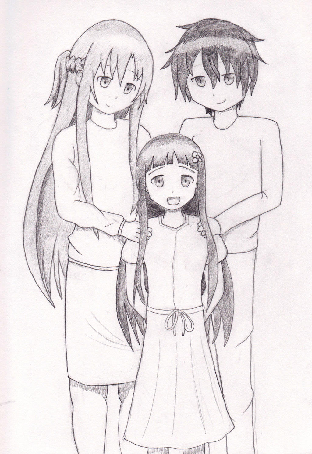 Anime Family Drawing Pictures To Pin On Pinterest Pinsdaddy