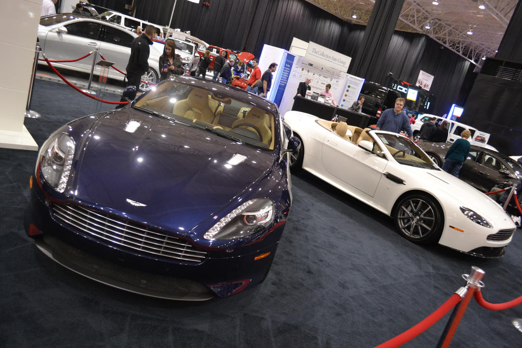 Pair Of Astons Cleveland Auto Show By Anths On DeviantArt - Cleveland car show
