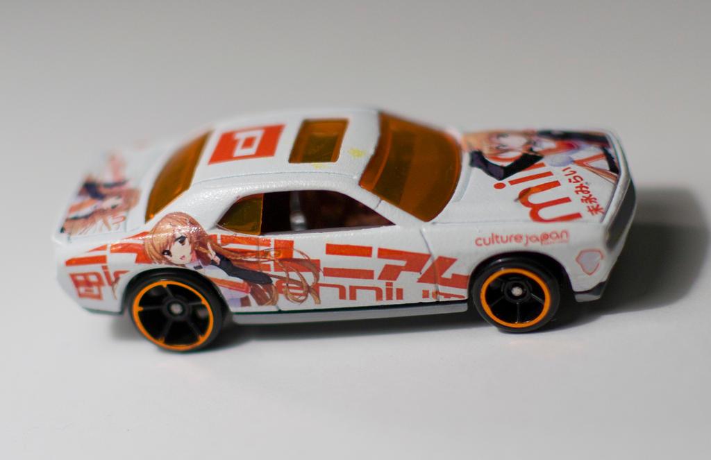 Hot Wheels Itasha Mirai Millenium Dodge Challenger by Anths95