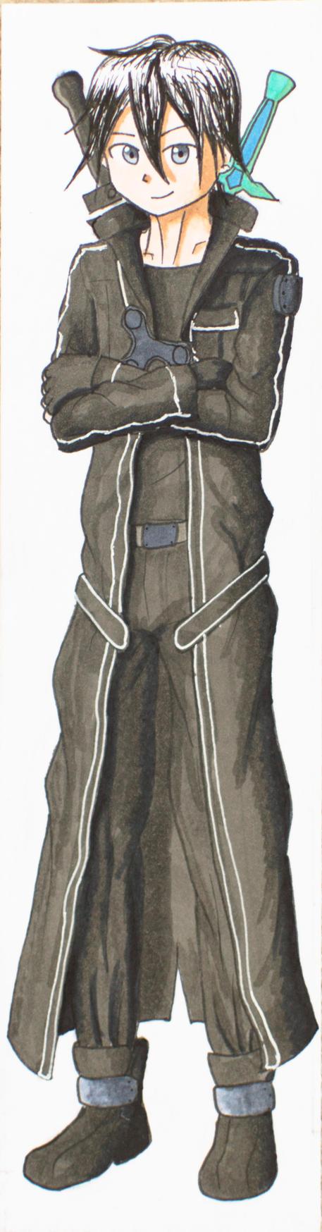 Kirito Bookmark (SAO) by Anths95
