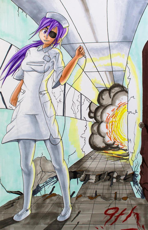 Uryuu Minene (Nurse ver.) by Anths95