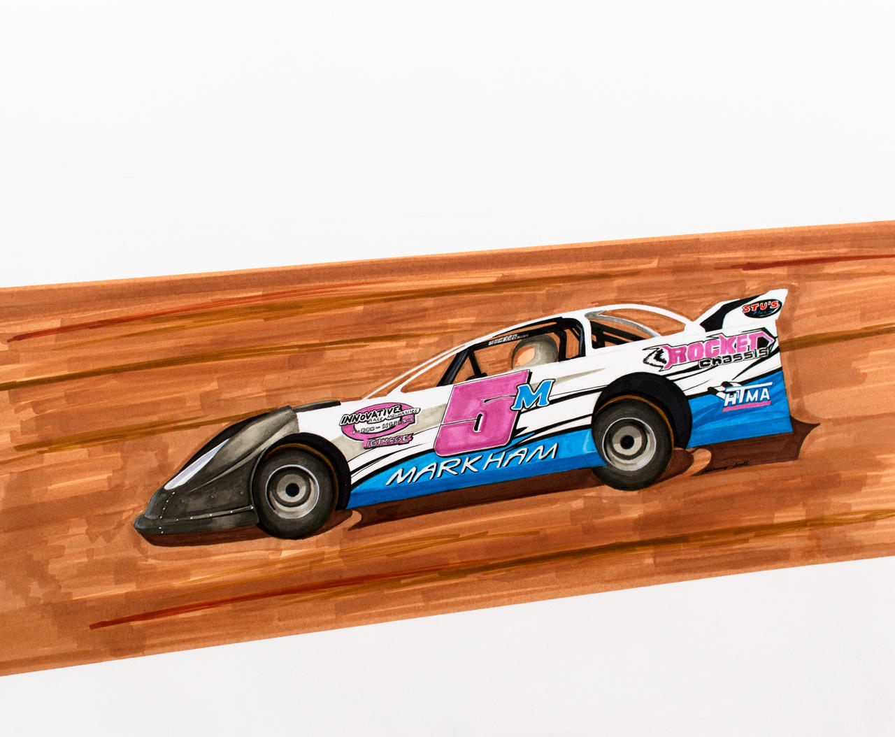 how to drive a modified dirt car