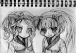 Sketchbook: Anna and Nekomura
