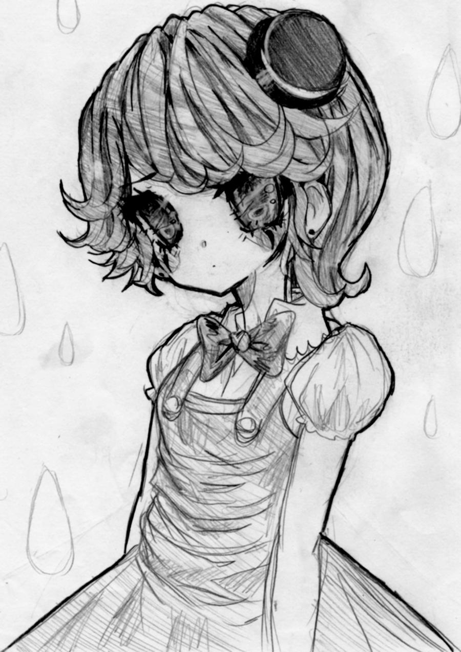 sad clown by unyapu on deviantart