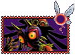 Skull Kid Stamp by raxgond