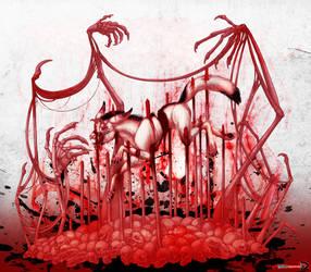 Drawlloween 2016 - Haunted by raxgond