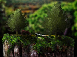 TrunkLandscape by CruXial1