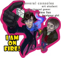 I AM ON FIRE by H-I-S-O-K-A