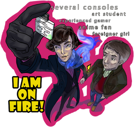 I AM ON FIRE by H-I-S-O-K-A