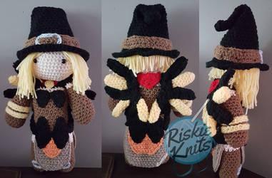 Amigurumi doll in dragon costume - Amigurumi Today | 250x381