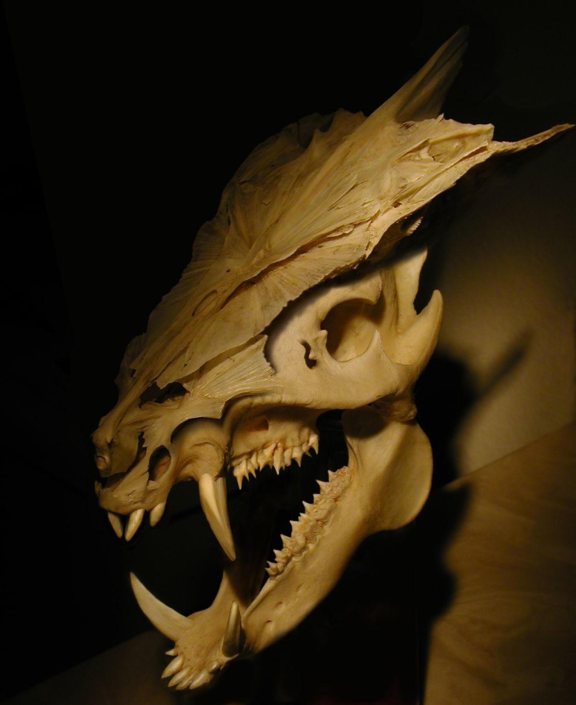 Как сделать дракона с зубами