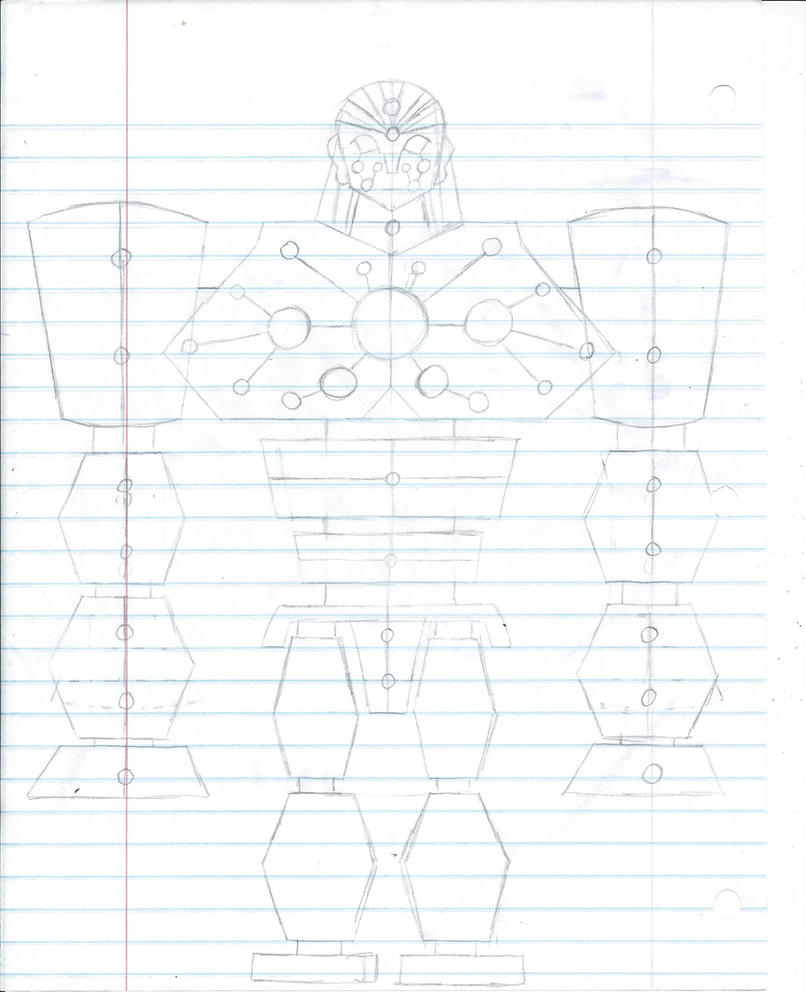 The New Bronze Giant: Rough Sketch/Concept by ARTgazer12