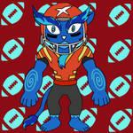Yo-kai Watch: Lionbacker by ARTgazer12