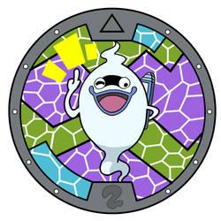 Yo-kai Watch: Whisper Medal by ARTgazer12