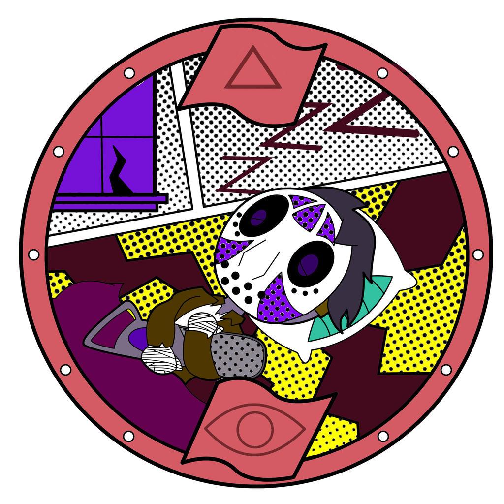 Com yo kai watch snoreen medal by artgazer12 on deviantart for Decoration yo kai watch