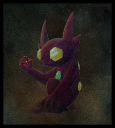 Sableye by Peagreen