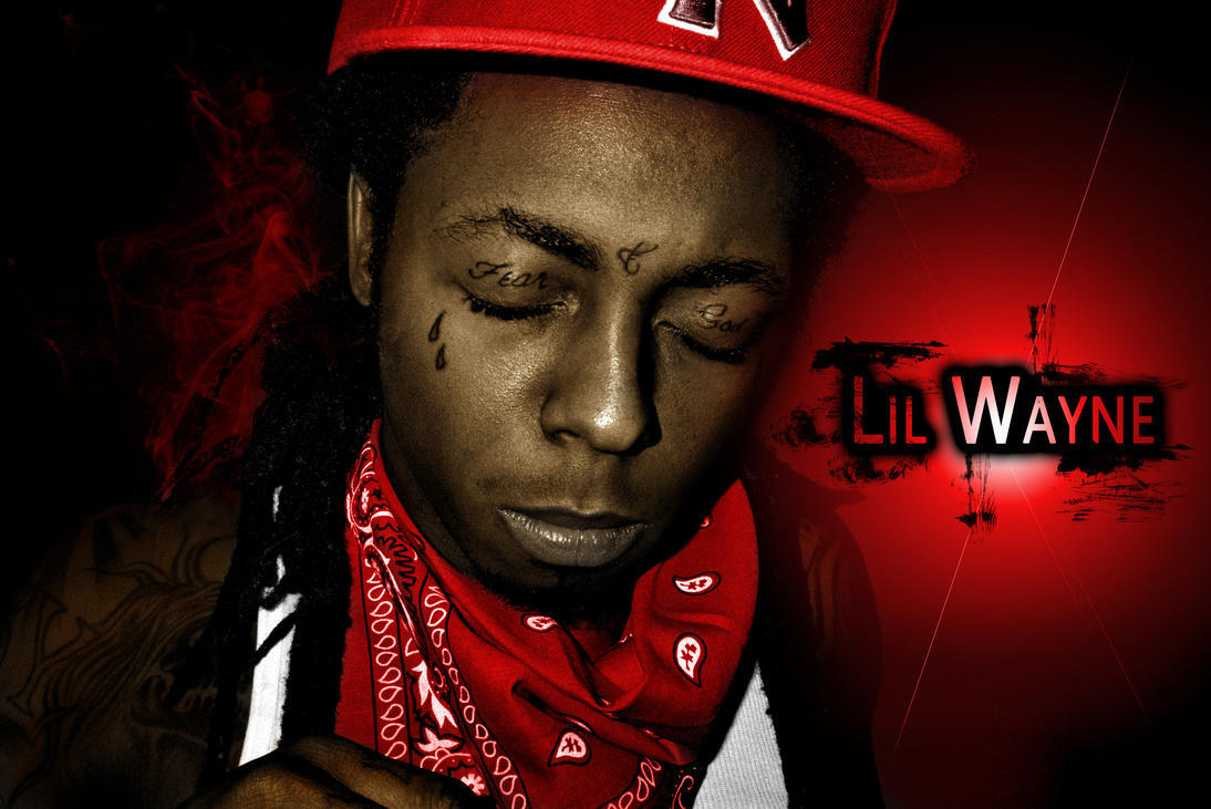 old lil wayne black and white picture colored page 2