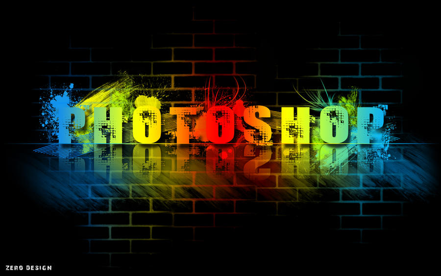 Colorful Photoshop Wallpaper By Zero1122