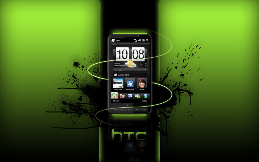 HTC HD2 Wallpaper by Zero1122