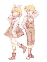 Rin  Len by Tamagoyaki-san