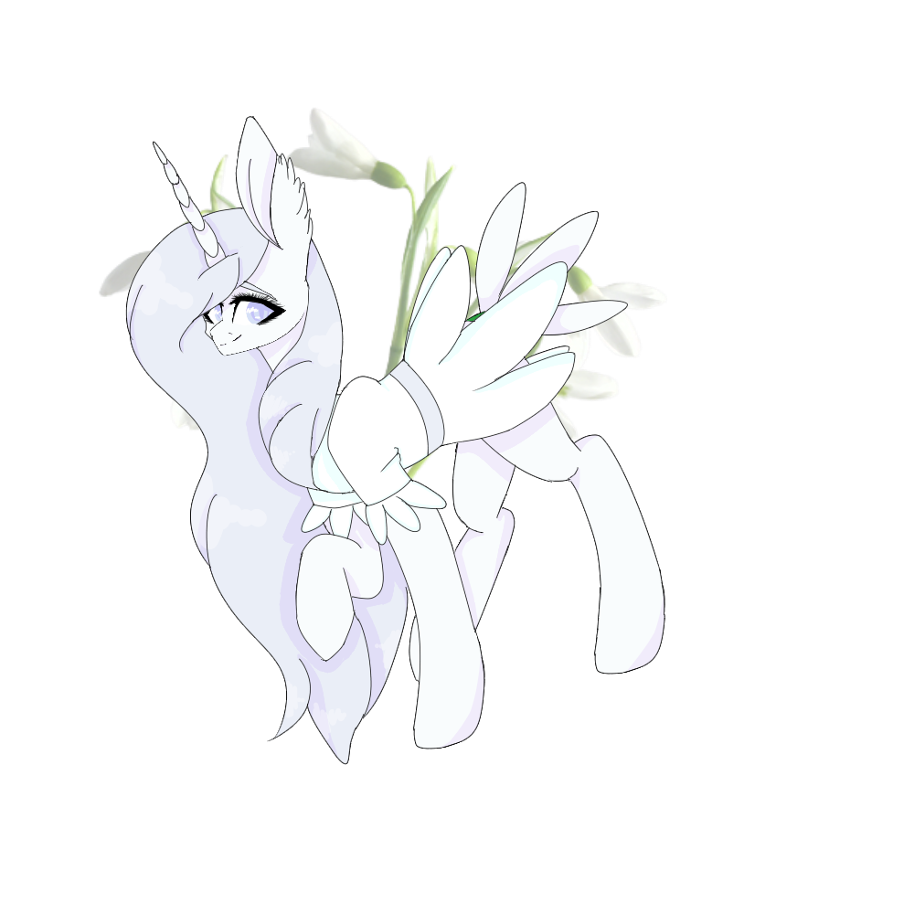 Snowdrop pone by itsfbi