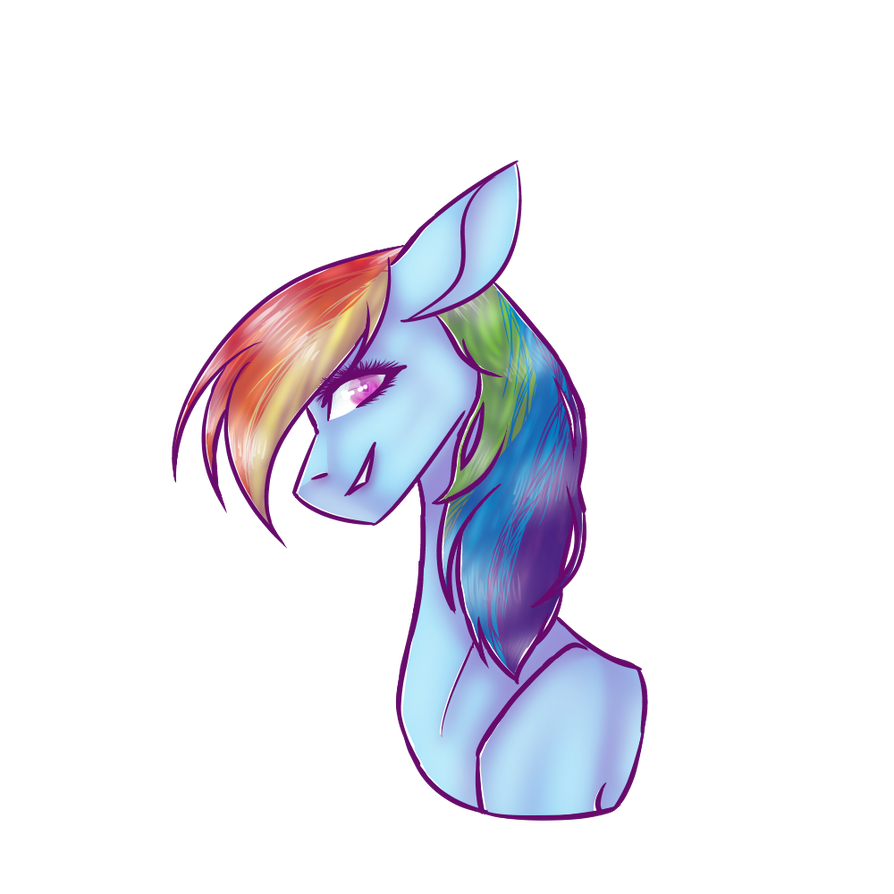 Rainbow dash by itsfbi