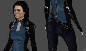 Miranda Lawson Alt Suit HR